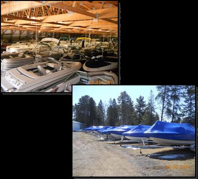 Hayward WI Boat Storage